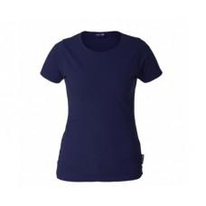 Marškinėliai tamsiai mėlyni moteriški 180g, CE, LAHTI