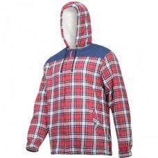 Marškiniai flaneliniai  pašilt.,raudonai-mėlyni ,CE,LAHTI