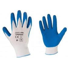 Pirštinės apsaug.lateksiniai mėlynai-balti, CE,LAHTI