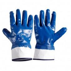 Pirštinės apsaug.nitrilas mėlynos 10'',CE,LAHTI
