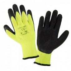 Pirštinės apsaug.žieminės juodai-gelt. 10 ',CE,LAHTI