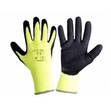 Pirštinės apsaug.žieminės juodai-gelt. ,CE,LAHTI