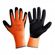 Pirštinės apsaug.žieminės juodai-oranž.,CE,LAHTI