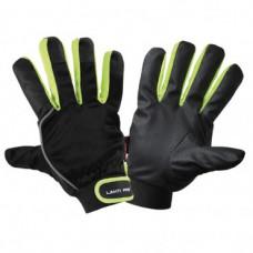 Pirštinės apsaug.žieminės juodai-žali., CE,LAHTI