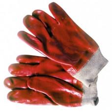 Pirštinės buitinės raudonos trumpos