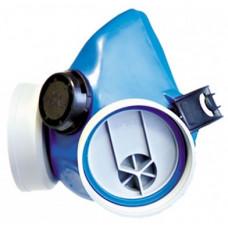 Respiratorius silikoninis vienam filtrui