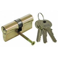 Šerdelė durų spynai 62mm  3raktai MEGA