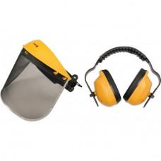 Skydelis veido apsauginis  'CE ' su ausinėmis