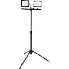Šviesos diodų prožektorius 2x30W su stovu YATO