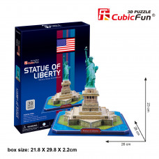 "CF 3D dėlionė ""Laisvės statula"""