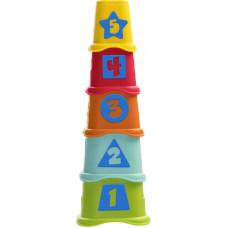 """CHICCO formelių piramidė """"Du viename"""", 6-36m"""