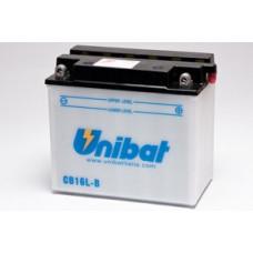 Akumuliatorius Unibat 12V 19AH 240A 175x100x155mm