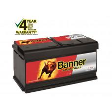 Banner 95Ah 780A 12V Power Bull akumuliatorius 354x175x190x190mm