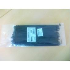Dirželis UV 300mm x 7,8mm juodas, 100 vnt.