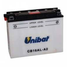 Akumuliatorius Unibat 12V 16AH 200A 207x72x164mm