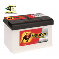 Banner 77Ah 700A 12V Power PRO akumuliatorius 278x175x190mm