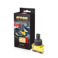 AREON  CAR - Silver oro gaiviklio papildymas 8 ml