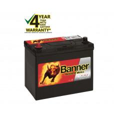 Banner 45 Ah 390A +- 12V Power akumuliatorius 238x129x203/225mm