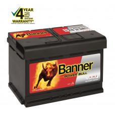 Banner 72Ah 670A 12V Power akumuliatorius 278x175x175mm