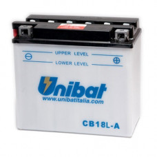 Akumuliatorius Unibat 12V 18AH 235A 180x90x162mm