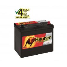 Banner 45 Ah 390A -+ 12V Power akumuliatorius 238x129x203/225mm