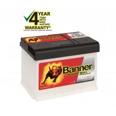 Banner 63Ah 620A 12V Power PRO akumuliatorius 241x175x190mm