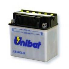Akumuliatorius Unibat 12V 19AH 240A 175x100x175mm