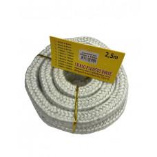 Stiklo pluošto virvė, 10 mm x 10 mm / 2,5 m