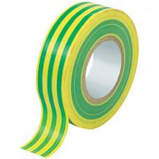 Izoliacinė juosta TM geltona/žalia, 0.15 x 19mm x 20m