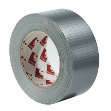 Tekstilinė atspari vandeniui izoliacinė juosta 50/50 sidabrinė