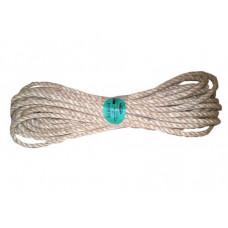 Sukta sizalio virvė, 10 mm x 15 m