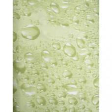 Vonios užuolaida Water žalia 180 x 200 cm