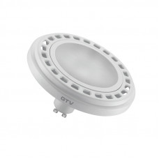 LED lemputė ES111 12W, GU10, 3000K, 850lm, 120* balta