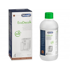 Delonghi 500 ml, EcoDecalk, For automatic coffee makers & espresso coffee makers
