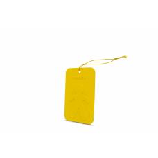 Mr&Mrs Cesare Scented card JCESTES004 Scent for Car, Vanilla: Oriental, EVA, Yellow