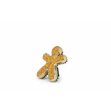 Mr&Mrs Niki Fashion Car air freshener JNIKIFASBX004 Scent for Car, Sandal & Incense, Glitter orange