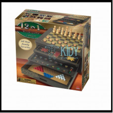 KO CARDINAL GAMES 12 game set Wood Game Center, 6033155